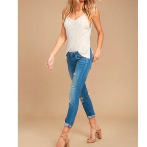 BLANK NYC SKINNY CLASSIQUE Ankle JEANs Distressed